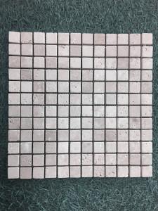 TRAVERTIN MOSAÏQUE CLASSIC MIX 2,3X2,3 CM