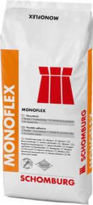 Пластичный клеевой раствор S1 для укладки плитки -MONOFLEX 25 кг БЕЛЫЙ